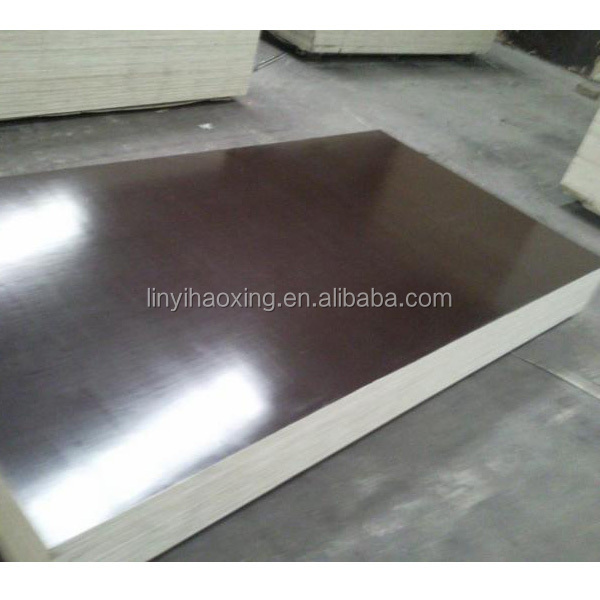 Inch black brown film faced plywood shutter marine