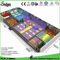 Wholesale Ball Pit Balls Outdoor Trampoline Park with Foam Pit Dodgeball