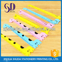 Factory Made Cheap Plastic Ruler Triangle Protractor Set