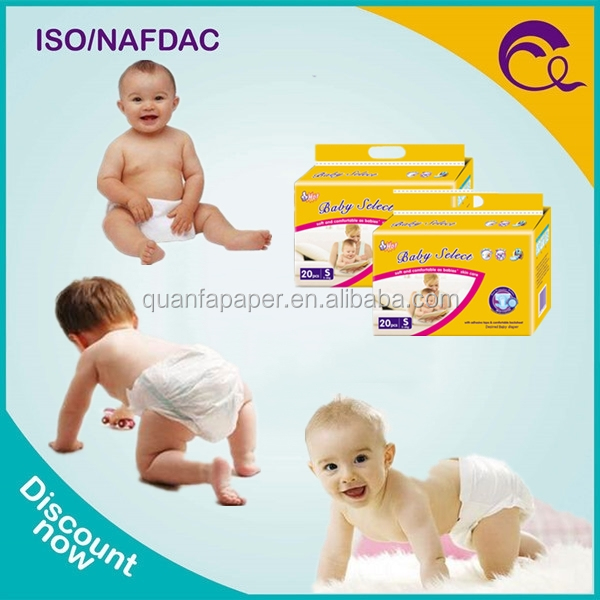 Made in China Best Quality Little Child Diapers Disposable Baby Diapers on Sale