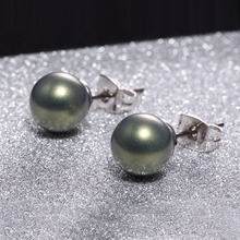 Crystal Jewelry Deep Green Pearl Crystal daliy wear Hot Sales Stud Earrings