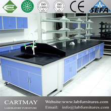 2015 modern scientific laboratory steel and wood lab benches, hospital furniture and school furniture