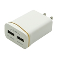 Dual Port 12W 2.4A USB Travel Wall Charger for Samsung Galaxy S8 Plus S7/S6/S5/S4,Note 8 6 5,HTC