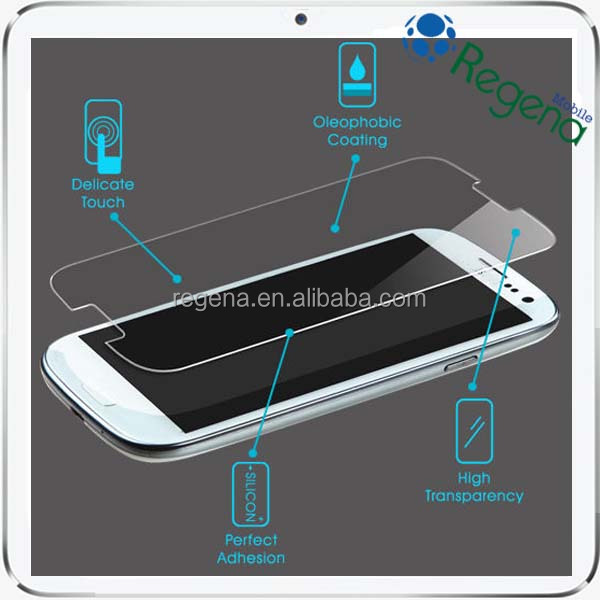 high clear Tempered Glass Screen Protector for Samsung Galaxy S III i9300