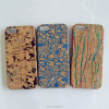 For Apple iPhone 5 Natural Confetti Wood Cork Phone Hard Case Cover Skin