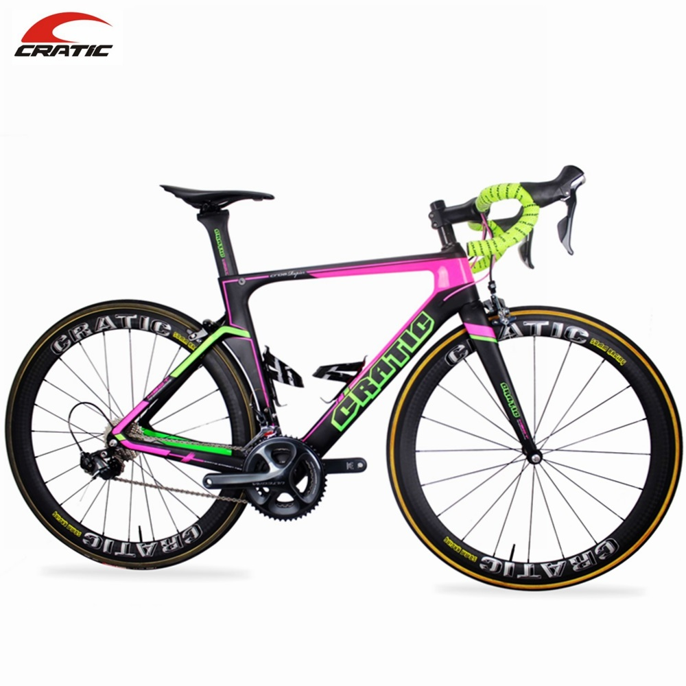 Cratic Shenzhen U50 12K Complete Carbon Bike Road Racing Bicycle