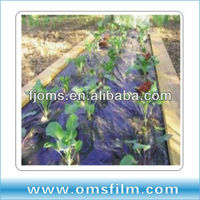 Perforated Plastic Black/ silver Mulch films for strawberries
