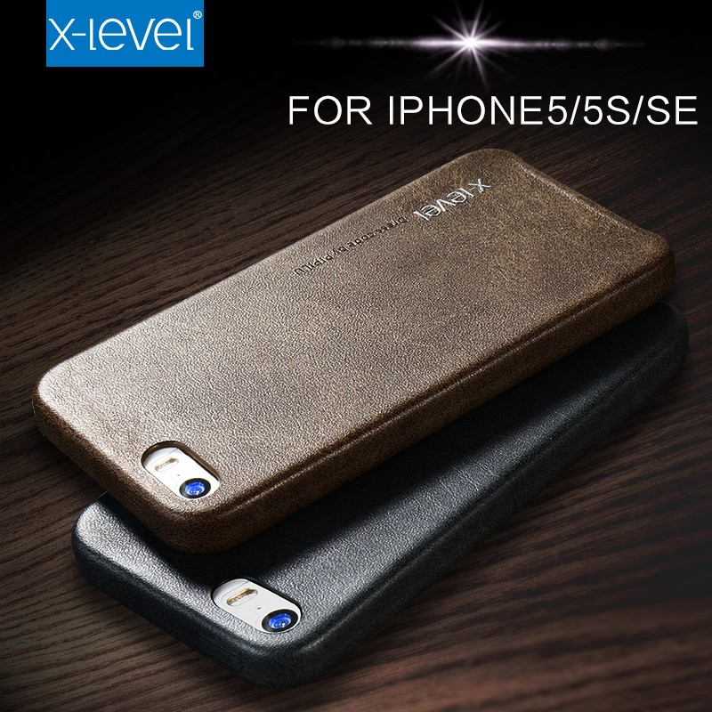 Xlevel High Quality Leather Cheap Price Phone cases for iphone 5 Back cover