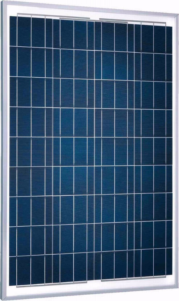 50W Black Amorphous Silicon Poly Solar Panel Sale