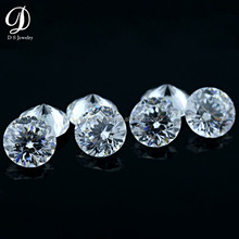 100 facets cz loose cubic zirconia stone diamond price per carat AAAAA quality