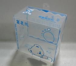 supply 0.3mm UV printing plastic transparent custom OEM PET box
