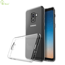Ultra Slim Flexible Soft Silicone TPU Bumper Clear Phone Case for Samsung Galaxy A7 2018
