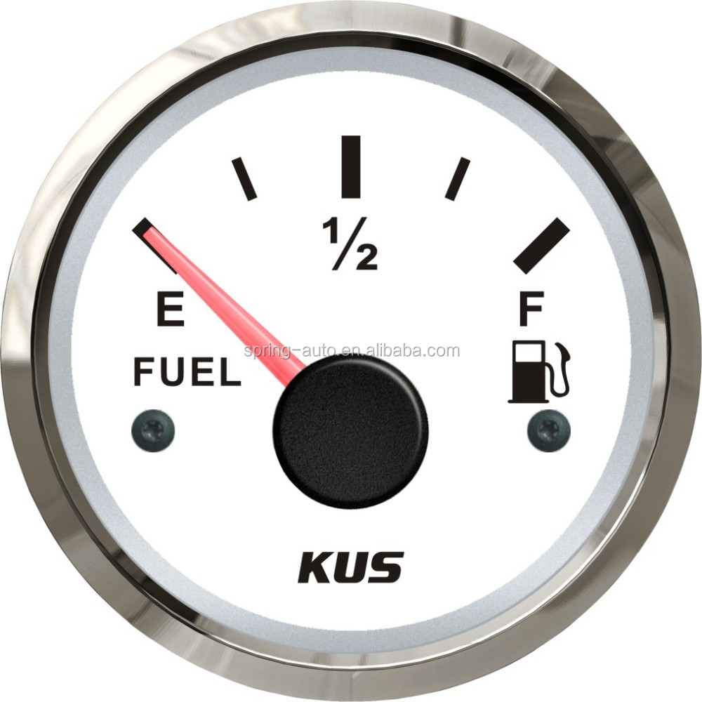 KUS 52mm Fuel level gauge fuel level meter for car truck racing