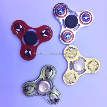 Cheap Relieves ADHD anxiety and boredom EDC colorful finger spinner