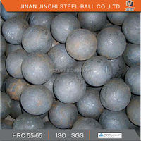 abrasion reststance forged steel ball hot rolled grinding ball mill ball