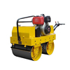 Asphalt and concrete road roller / single drum vibration compact road machine