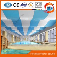 Pvc Stretch Ceiling Film In Constructions