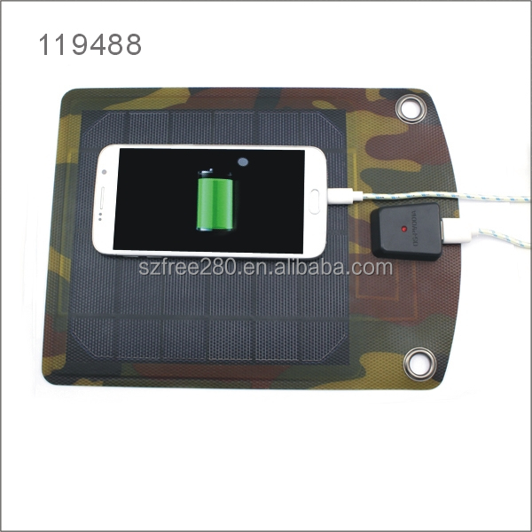 5W USB Output Portable Solar Panel Charger Battery Controller Solar Pad for Phones Tablets