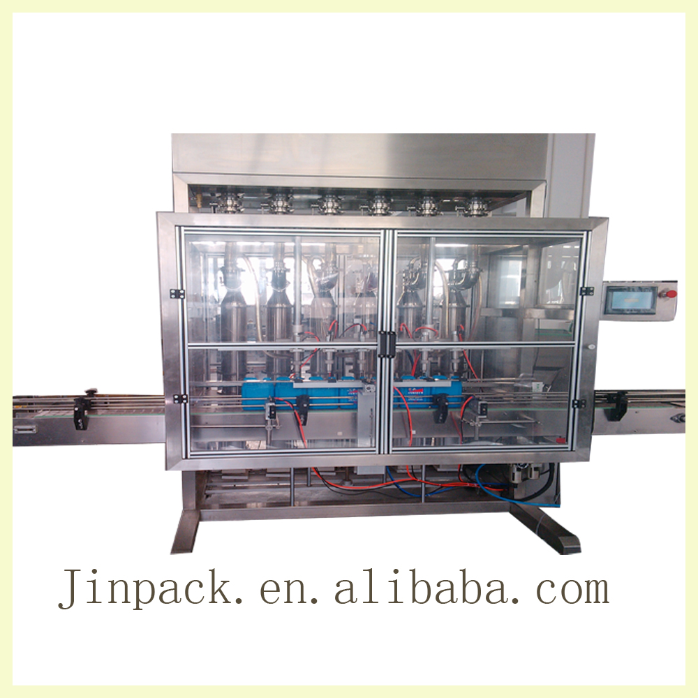 Factory price high efficient automatic piston carbonated beverage filling machine