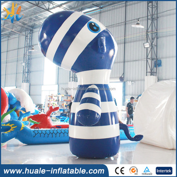 2017 New design inflatable zebra toys, inflatable water toys for sale
