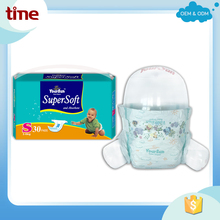 Free printing mould nice printed clothlike diaper super soft and absorbent YourSun baby diapers