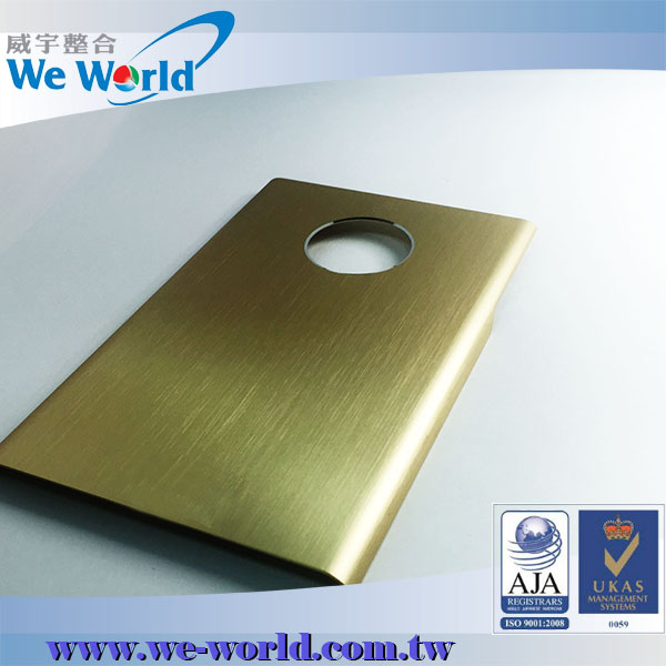 Superior value protective anodized aluminum cell phone in metal case