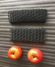 20x7cm Fruit And Wine Bottle Packaging Black Protective Packing Foam Mesh Sleeve Net