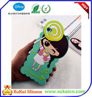 Cute mobile phone silicon case