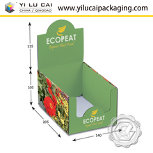 Yilucai Custom Print Paper Cardboard Cookies Display Box PDQ Box Tray For Biscuit