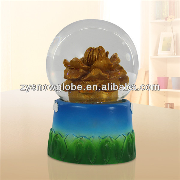 2014 Resin snow globe tourist souvenir