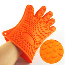 Kitchen accessories food grade heat resistant cooking mitts bread baking oven gloves