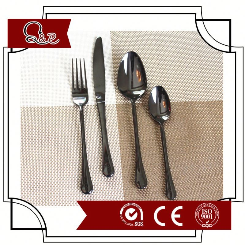 Brand New Direct Manufacturer Good Price Baroque 18/0 metal Fancy Cutlery