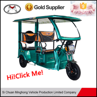 Popular music radio motorcycle sidecar tricycle for sale