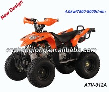 New design 110cc atv quad with 4 wheeler plastic parts