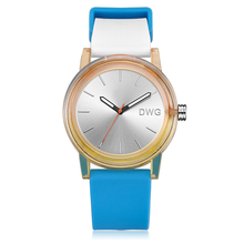 2018 Newest design fashion silicone wrist watch, wrist watch