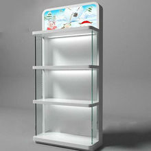 Retail Store Hot Sell Decorative Clear Glass Display Cabinet