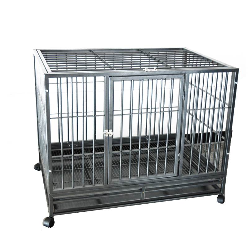 metal enclosure Folding heavy duty dog crate