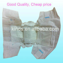 OEM economic PE film Disposable soft Baby Love Diapers