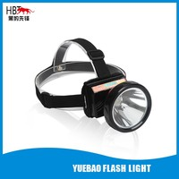 LED rechargeable Lithium waterproof strong power headlight 5W HBT-8802