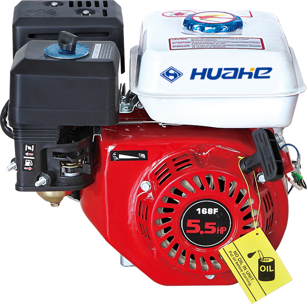 4 stroke 163cc 5.5hp gasoline engine (gx160), portable engine used for pump