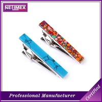 2016 cheap tie clips custom &tie clip manufcateres &Patterned tie clip