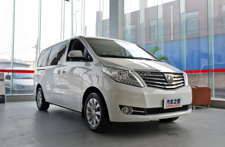 7 seats mini van/passenger car/MPV with gas/petrol engine from China