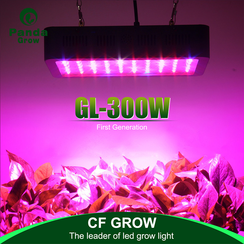 2017 Panda grow factory selling on line mini 300w full spectrum led indoor grow lights lighting