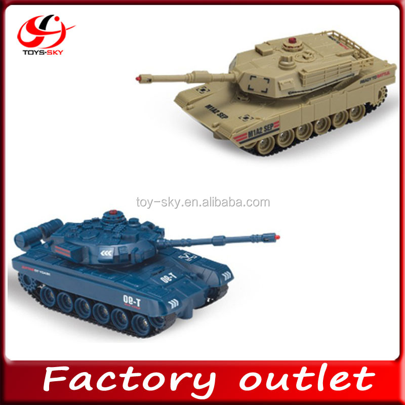 infrared control 1:48 RC battle tanks chenghai rc tank JD801 802
