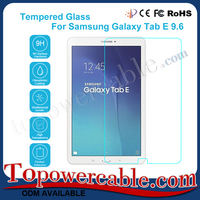Anti Fingerprint and Scratch Tempered Glass Guards Screen Protector For Samsung Galaxy Tab E 9.6