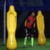 Hot sales goalkeeper equipment 185cm air yellow dummy football mannequin sale
