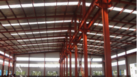 Firepreef and rustproof,earthquake- resistant.,steel structure warehouse