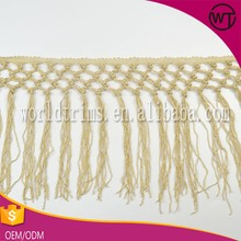 Hot sell metallic braid fringe trim for clothing WFT11