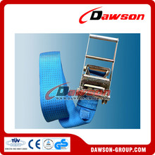 Dawson Polyester Cargo Ratchet Tie Down Lashing Belts with no Hook