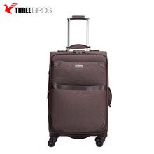 Alibaba China best selling airport carton cute kids sky travel luggage trolley suitcase on wheels set